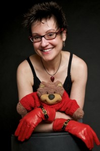 Mitzi Szereto and Teddy Tedaloo (photo credit Eric Schneider)