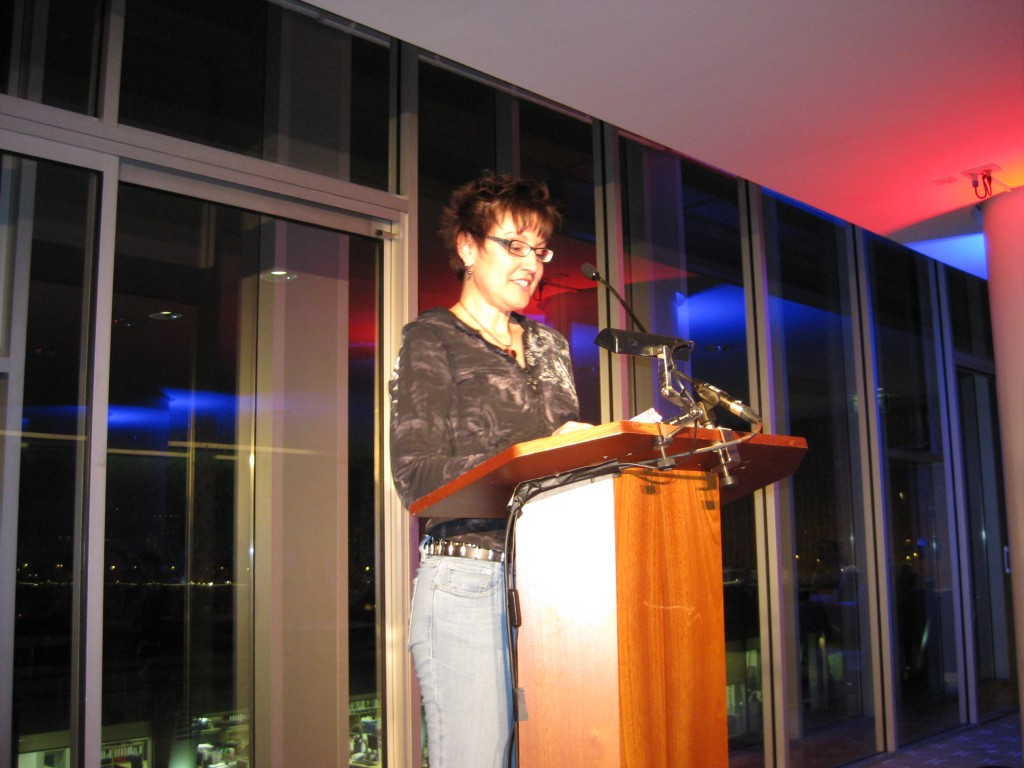 Mitzi Szereto reads at Polari at the Royal Festival Hall, London